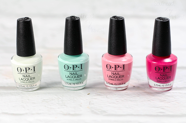 OPI Grease Mini Nail Polish Set Review About Set || Southeast by Midwest #OPI #OPIxGrease #ManiMonday #beauty #bbloggers