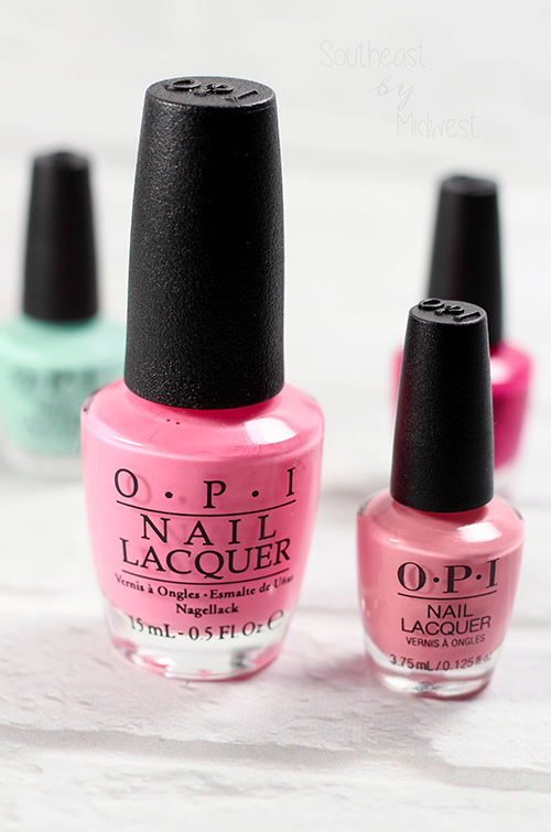 OPI Grease Mini Nail Polish Set Review Final Thoughts || Southeast by Midwest #OPI #OPIxGrease #ManiMonday #beauty #bbloggers
