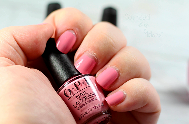 OPI Grease Mini Nail Polish Set Review Pink Ladies Rule the School Swatch || Southeast by Midwest #OPI #OPIxGrease #ManiMonday #beauty #bbloggers