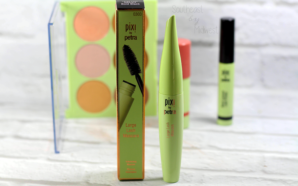 Pixi Large Lash Mascara Review Featured Image || Southeast by Midwest #pixibeauty #beauty #bbloggers #bblogger #beautyguru