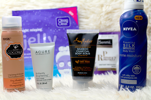 Mail Haul Monday for August Target Beauty Box || Southeast by Midwest #mailhaulmonday #beautyhaul #bbloggers
