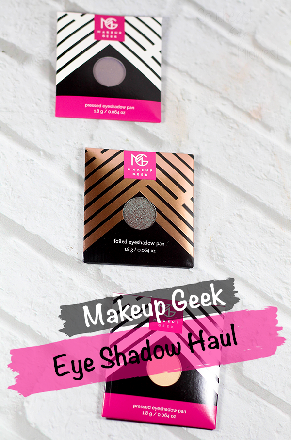 Makeup Geek Eye Shadow Haul || Southeast by Midwest #makeupgeek #beautyhaul #bbloggers