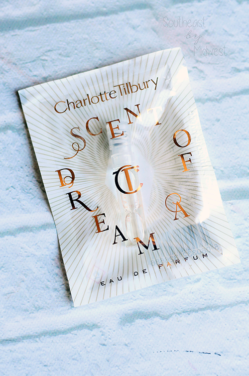 Foiled Again: Using Up Samples Intro Charlotte Tilbury Scent of a Dream Perfume || Southeast by Midwest #foiledagain #beautysamples #bbloggers #beauty