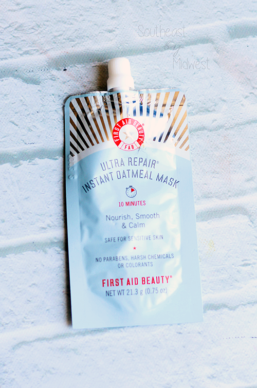 Foiled Again: Using Up Samples Intro First Aid Beauty Ultra Repair Instant Oatmeal Mask || Southeast by Midwest #foiledagain #beautysamples #bbloggers #beauty