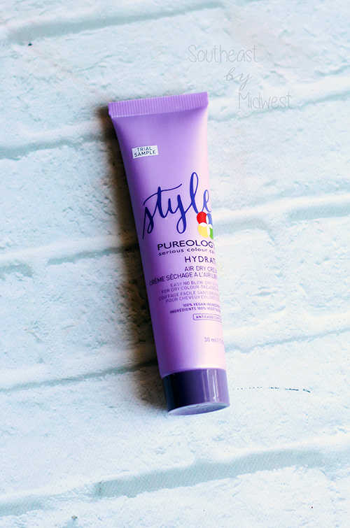 Foiled Again: Using Up Samples Intro Pureology Hydrate Air Dry Cream || Southeast by Midwest #foiledagain #beautysamples #bbloggers #beauty