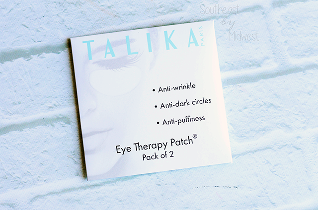 Foiled Again: Using Up Samples Intro Talika Eye Therapy Patch || Southeast by Midwest #foiledagain #beautysamples #bbloggers #beauty