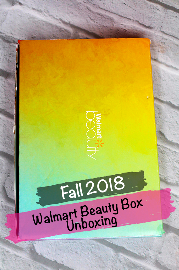 Fall Walmart Beauty Box Unboxing || Southeast by Midwest #beauty #bbloggers #walmartbeautybox