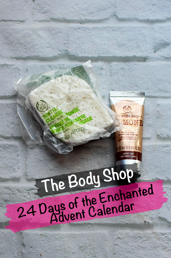 The Body Shop Advent Calendar || Southeast by Midwest #beauty #bblogger #EnchantedByNature #thebodyshop #adventcalendar