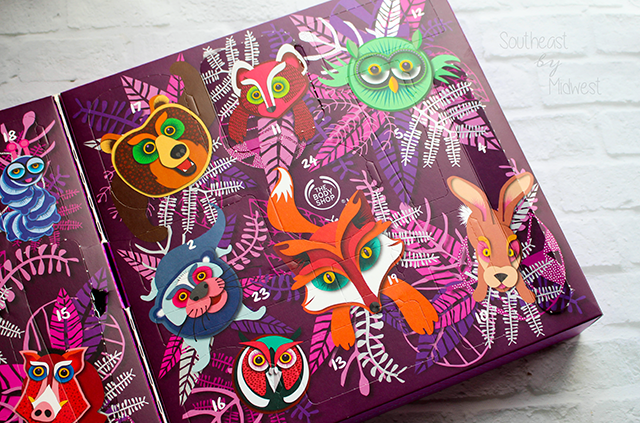 The Body Shop Advent Calendar Side B || Southeast by Midwest #beauty #bblogger #EnchantedByNature #thebodyshop #adventcalendar