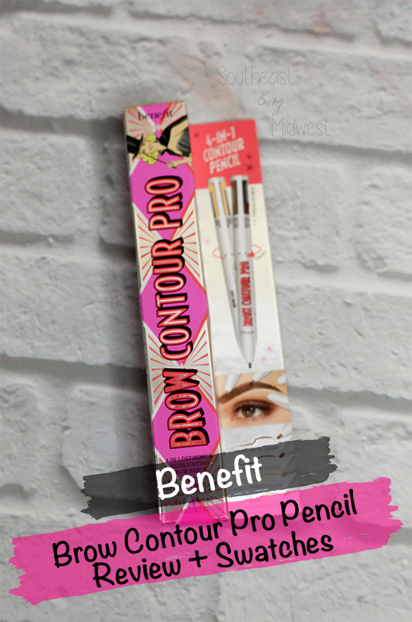 Benefit Brow Contour Pro Pencil Review || Southeast by Midwest #beauty #bbloggers #benefit #benefitbrows #browcontourpro