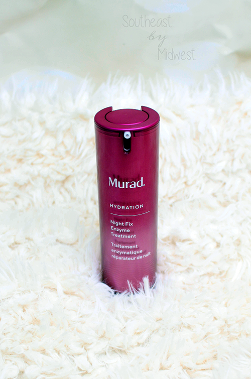 Murad Night Fix Enzyme Treatment Review About Product || Southeast by Midwest #beauty #bbloggers #muradskincare #nightfix