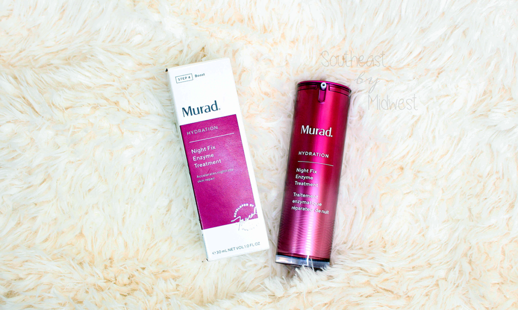 Murad Night Fix Enzyme Treatment Review Featured Image || Southeast by Midwest #beauty #bbloggers #muradskincare #nightfix