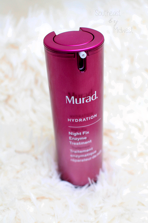 Murad Night Fix Enzyme Treatment Review Final Thoughts || Southeast by Midwest #beauty #bbloggers #muradskincare #nightfix