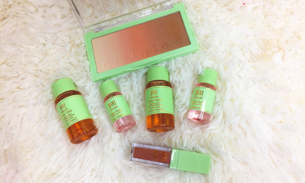 Pixi PixiGlow Cakes and More Haul Featured Image || Southeast by Midwest #beauty #bbloggers #pixiglow #pixibeauty #prsample