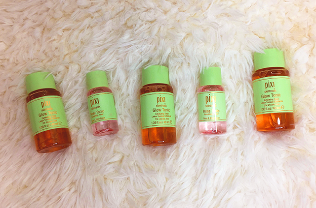 Pixi PixiGlow Cakes and More Haul Tonics || Southeast by Midwest #beauty #bbloggers #pixiglow #pixibeauty #prsample