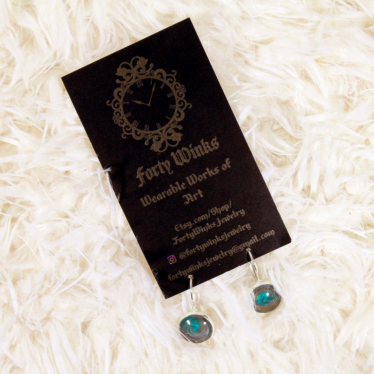 February Indie Pickup Forty Winks Earrings || Southeast by Midwest #indiepickup #februaryindiepickup #indiebeauty #fortywinks