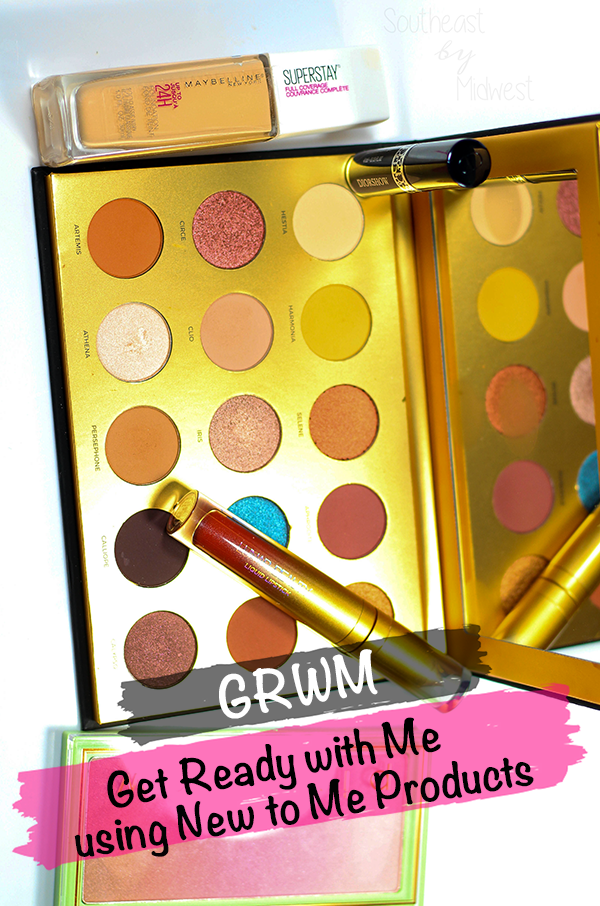 GRWM using New to Me Products    Southeast by Midwest #beauty #grwm #firstimpressions