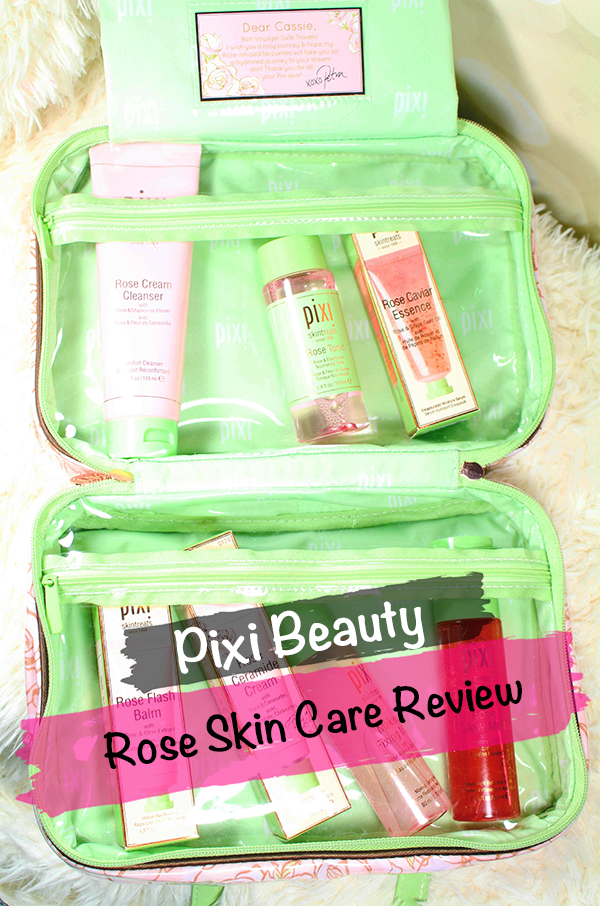 Pixi Rose Skin Care Review || Southeast by Midwest #pixibeauty #beauty #bbloggers #prsample #pixiskincare
