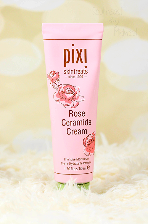 Pixi Rose Skin Care Review Rose Ceramide Cream || Southeast by Midwest #pixibeauty #beauty #bbloggers #prsample #pixiskincare