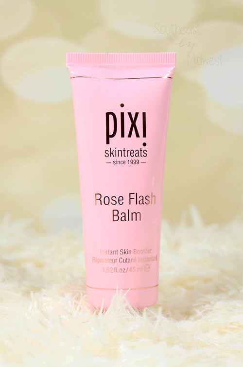 Pixi Rose Skin Care Review Rose Flash Balm || Southeast by Midwest #pixibeauty #beauty #bbloggers #prsample #pixiskincare