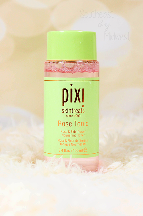 Pixi Rose Skin Care Review Rose Tonic || Southeast by Midwest #pixibeauty #beauty #bbloggers #prsample #pixiskincare