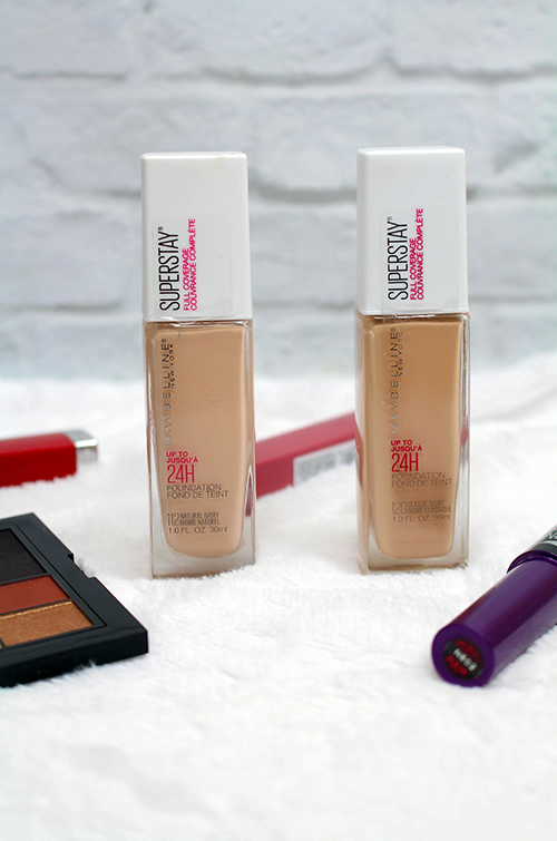 Maybelline SuperStay Foundation Review and Swatches Bottles || Southeast by Midwest #beauty #bbloggers #maybelline #superstayfoundation