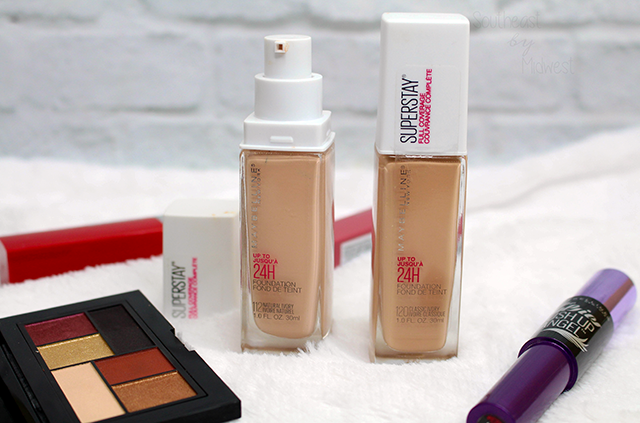Maybelline SuperStay Foundation Review and Swatches Review || Southeast by Midwest #beauty #bbloggers #maybelline #superstayfoundation