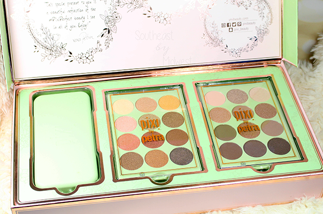 Pixi Eye Reflections Palettes Review + Swatches About || Southeast by Midwest #beauty #bbloggers #pixibeauty #prsample
