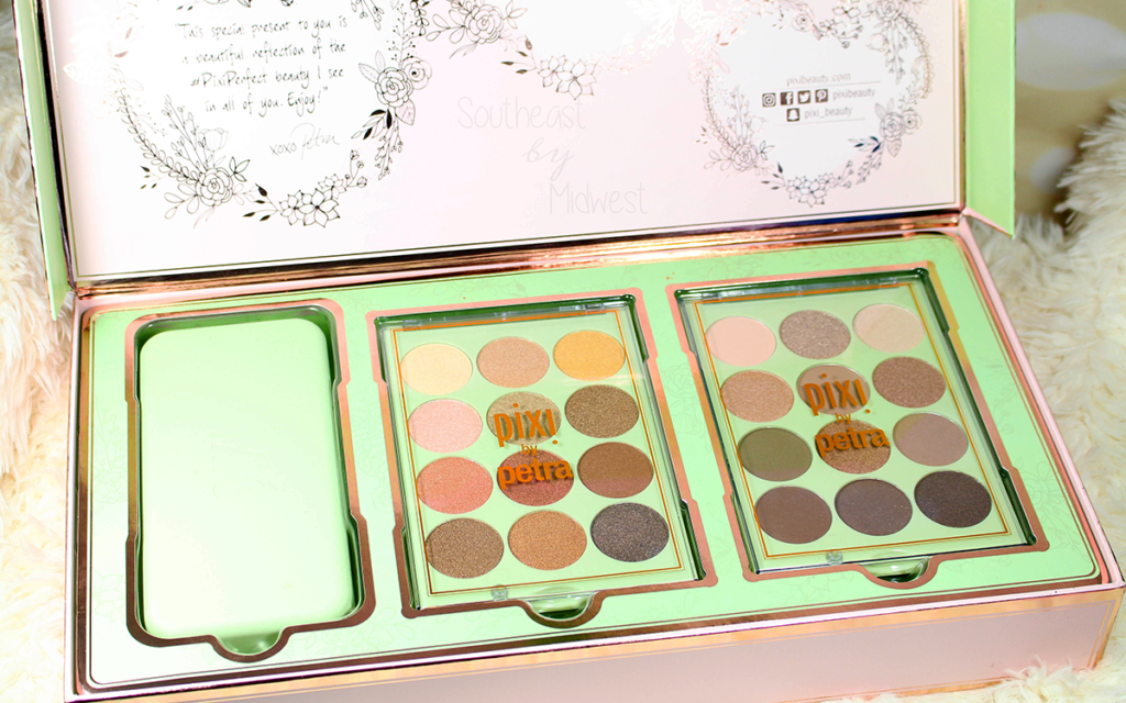Pixi Eye Reflections Palettes Review + Swatches Featured Image || Southeast by Midwest #beauty #bbloggers #pixibeauty #prsample