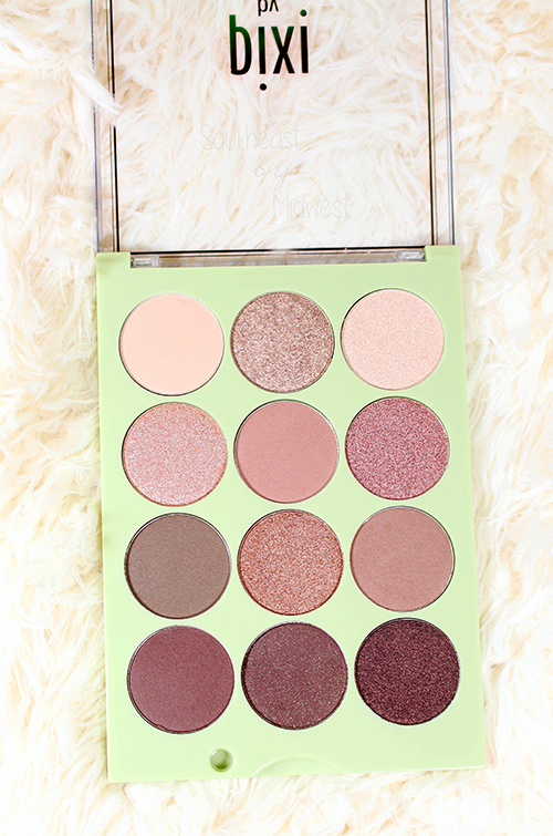 Pixi Eye Reflections Palettes Review + Swatches Natural Beauty Palette || Southeast by Midwest #beauty #bbloggers #pixibeauty #prsample