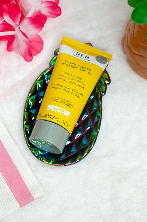REN Clean Screen Mineral SPF 30 Sunscreen Review About || Southeast by Midwest #beauty #bbloggers #RENCleanSkincare #RENPartner