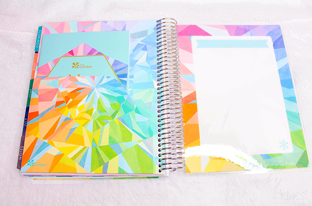 2019 - 2020 Hourly Erin Condren Life Planner Review Back Folder || Southeast by Midwest #erincondren #lifeplanner #eclifeplanner