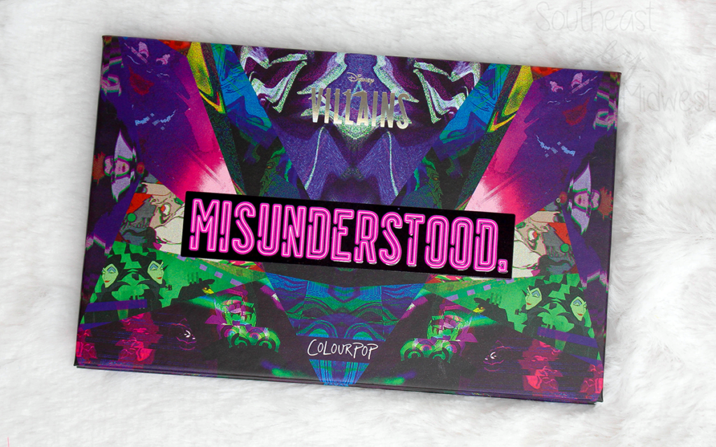 ColourPop Misunderstood Palette Review Featured Image || Southeast by Midwest #beauty #bbloggers #colourpopcosmetics #disneyvillainsandcolourpop #disney