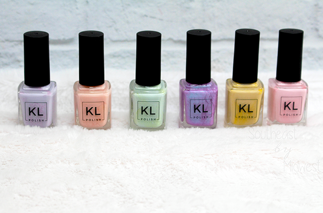 KL Polish Ethereal Garden Collection Review Bottles || Southeast by Midwest #beauty #bblogger #klpolish #klpolished #kletherealgarden