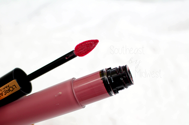 L'Oreal Rouge Signature Liquid Lipsticks Review Opened || Southeast by Midwest #prsample #beauty #bbloggers #lorealparis #rougesignature
