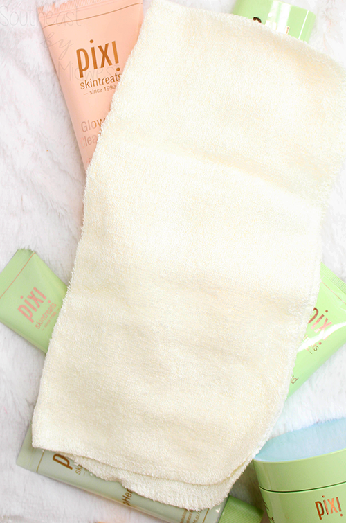 Pixi Spring and Summer 2019 Skin Care Cleansing Cloth || Southeast by Midwest #beauty #bbloggers #pixibeauty #pixiglowstory #pixiskintreats #prsample
