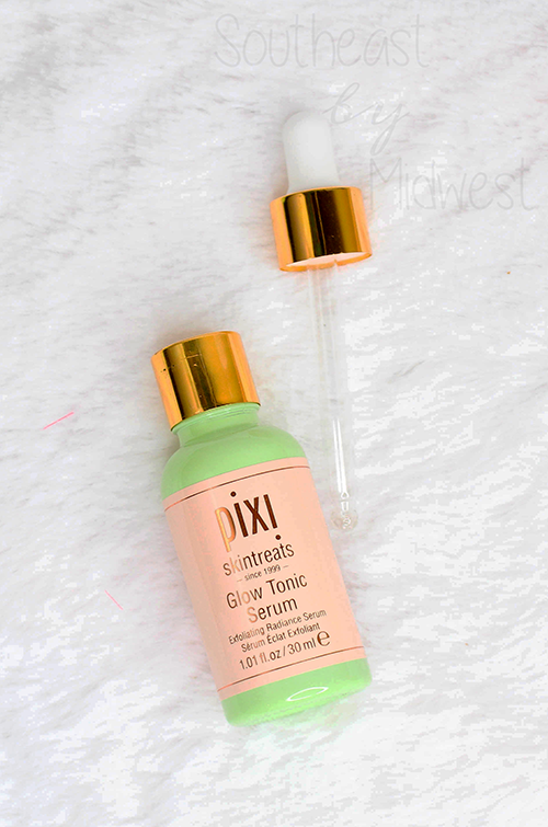Pixi Spring and Summer 2019 Skin Care Glow Tonic Serum || Southeast by Midwest #beauty #bbloggers #pixibeauty #pixiglowstory #pixiskintreats #prsample