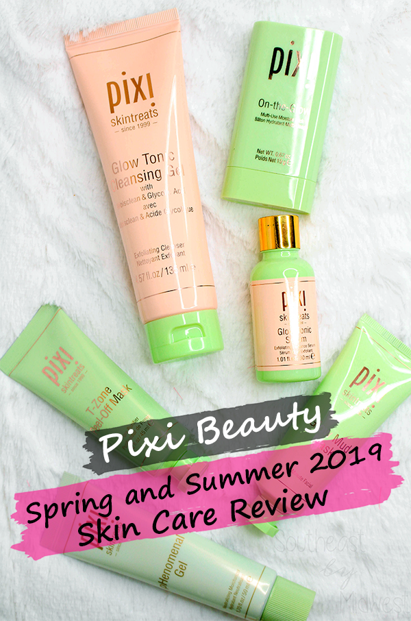 Pixi Spring and Summer 2019 Skin Care || Southeast by Midwest #beauty #bbloggers #pixibeauty #pixiglowstory #pixiskintreats #prsample