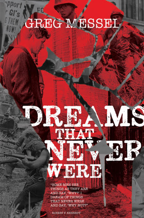 Dreams that Never Were by Greg Messel Review Book Cover || Southeast by Midwest #literary #bookreview #prsample