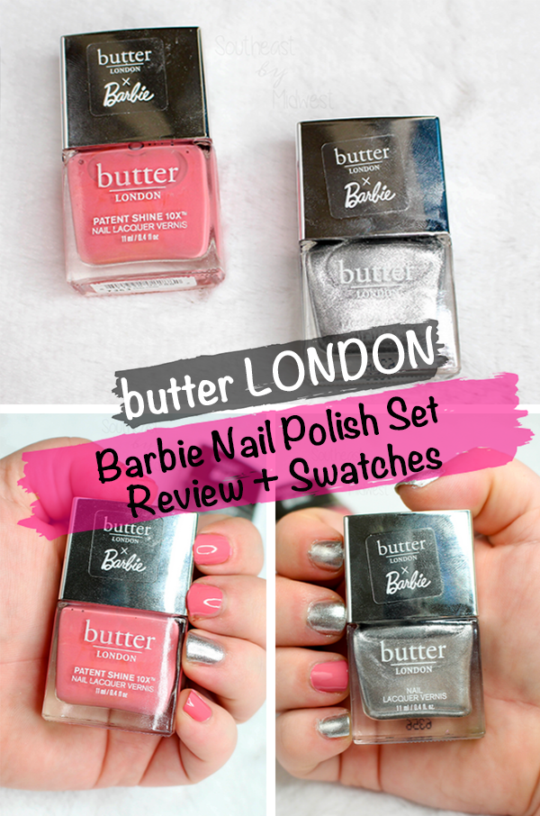 butter LONDON x Barbie Nail Polish Set || Southeast by Midwest #beauty #bbloggers #prsample #butterLONDON #butterLONDONBarbie #butterLONDONbesties @butterlondon