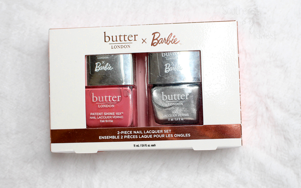butter LONDON x Barbie Nail Polish Set Featured Image || Southeast by Midwest #beauty #bbloggers #prsample #butterLONDON #butterLONDONBarbie #butterLONDONbesties @butterlondon