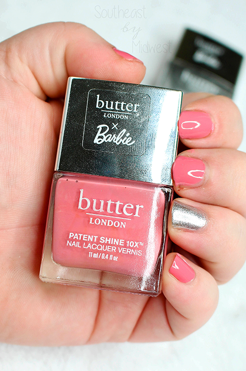 butter LONDON x Barbie Nail Polish Set Coming Up Roses Swatch|| Southeast by Midwest #beauty #bbloggers #prsample #butterLONDON #butterLONDONBarbie #butterLONDONbesties @butterlondon