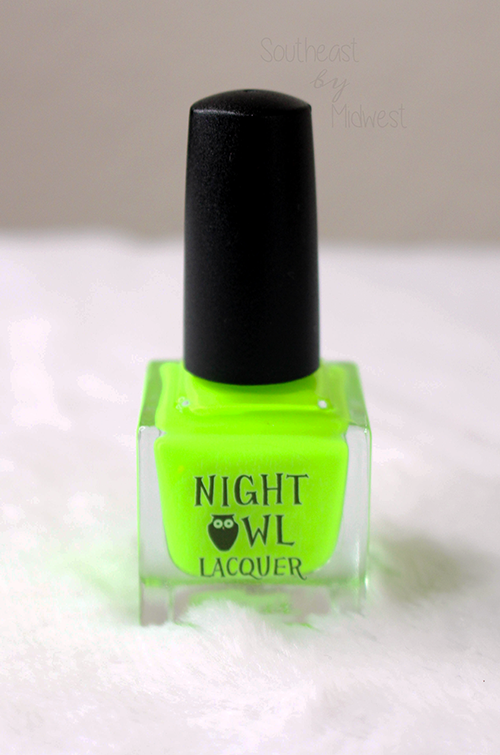 Night Owl Lacquer Radioactive Nail Polish About || Southeast by Midwest #beauty #bbloggers #manimonday #nightowllacquer #nailpolish