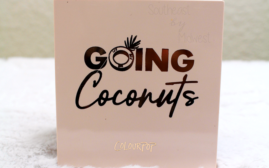ColourPop Going Coconuts Palette Featured Image || Southeast by Midwest #beauty #bbloggers #colourpop #colourpopme #crueltyfree