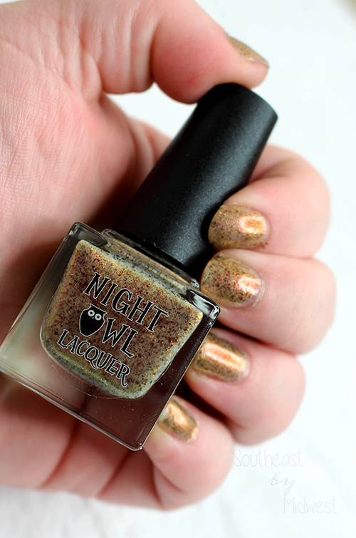 Night Owl Lacquer Mischief Managed Glossy || Southeast by Midwest #beauty #bblogger #manimonday #nailpolish #nightowllacquer #harrypotter