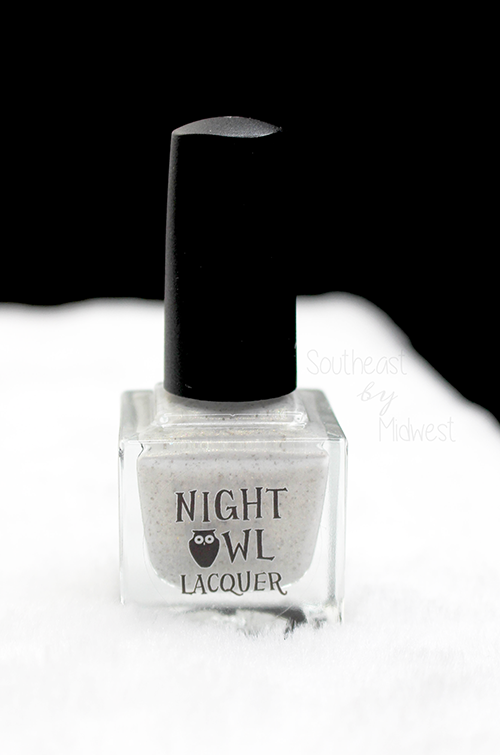 Night Owl Lacquer Snowy Owl Bottle || Southeast by Midwest #beauty #bbloggers #manimonday #nightowllacquer #harrypotter