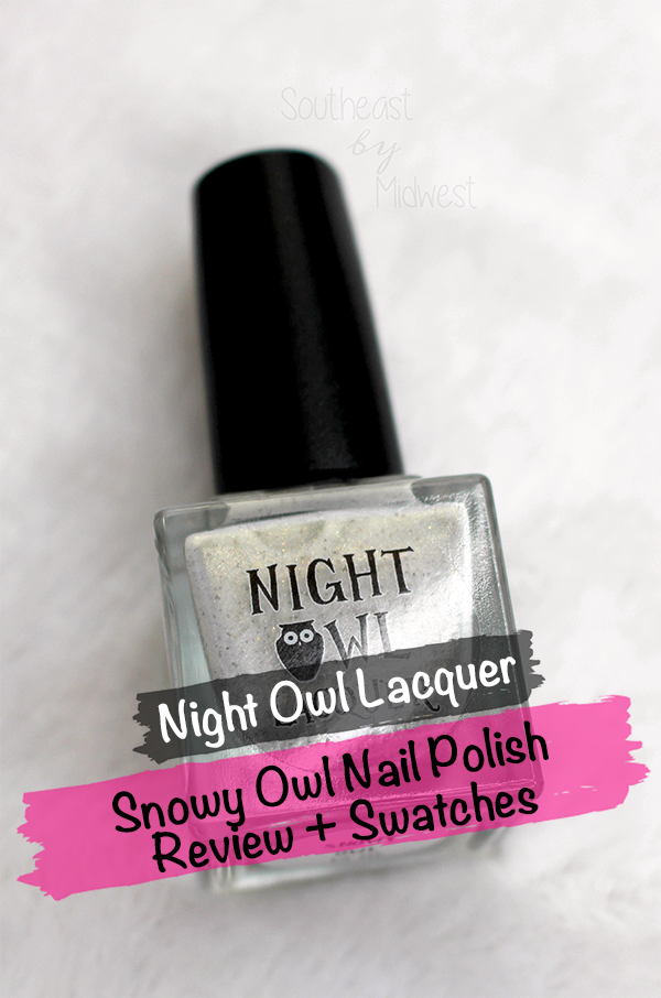Night Owl Lacquer Snowy Owl || Southeast by Midwest #beauty #bbloggers #manimonday #nightowllacquer #harrypotter