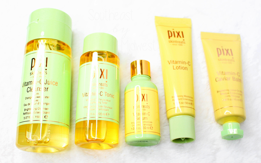 Pixi Vitamin C Skin Care Featured Image || Southeast by Midwest #prsample #beauty #bblogger #pixibeauty