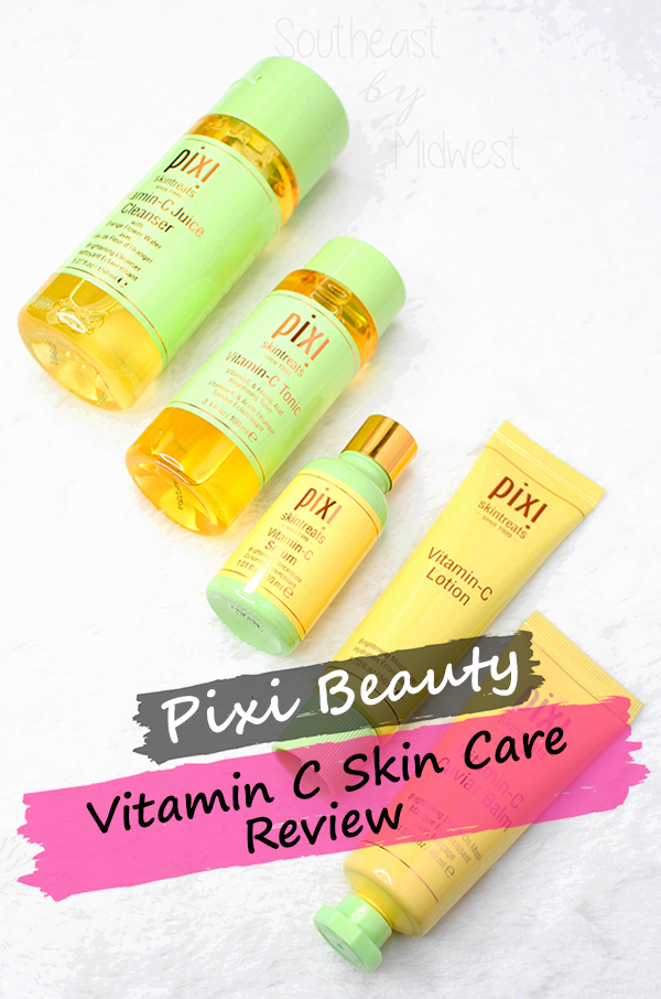 Pixi Vitamin C Skin Care || Southeast by Midwest #prsample #beauty #bblogger #pixibeauty