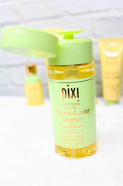 Pixi Vitamin C Skin Care Juice Cleanser || Southeast by Midwest #prsample #beauty #bblogger #pixibeauty